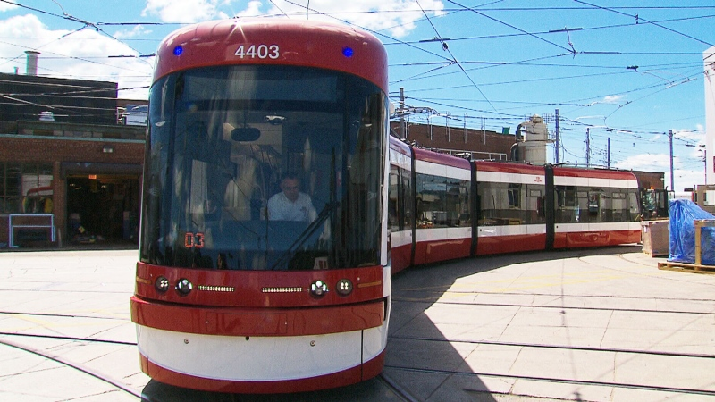 Extended: TTC's new streetcars