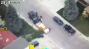 Extended: Aerial video from Saskatoon standoff