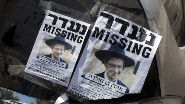 Missing ultra-Orthodox Jewish student