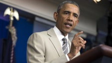 Obama contemplates possible airstrikes in Syria