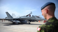 CF-18 fighter jets move closer to Russia