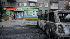 Conflict heats up in eastern Ukraine