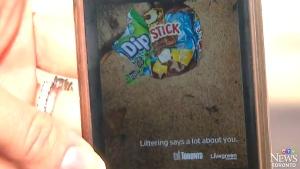 CTV Toronto: City trashes anti-litter campaign