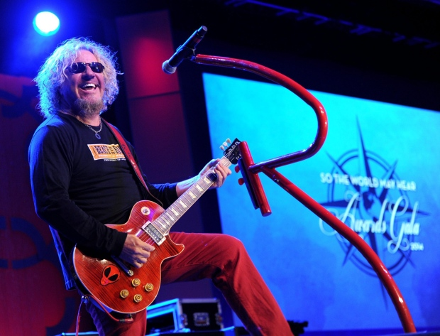 Iowa woman trying to sue Sammy Hagar for libel