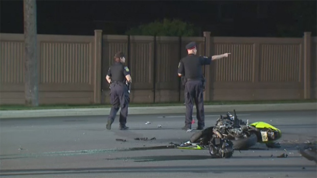 Man, woman die after motorcycle crash in Mississau