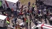 CTV Vancouver: Tour bus crash scene of chaos