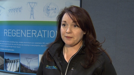 Cindy Verschoor, communications manager of the BC Hydro smart meter program, says the devices are a necessary upgrade to the electricity grid. (CTV)