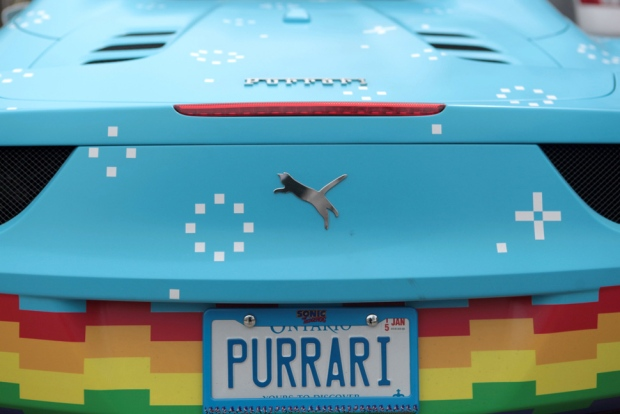 Deadmau5 Purrari Badges Source: ctvnews.ca