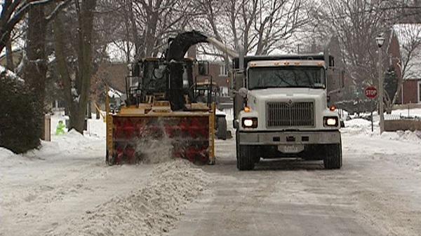Ottawa snow plows