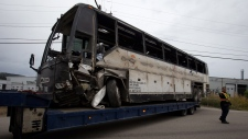 B.C. police investigating cause of bus crash