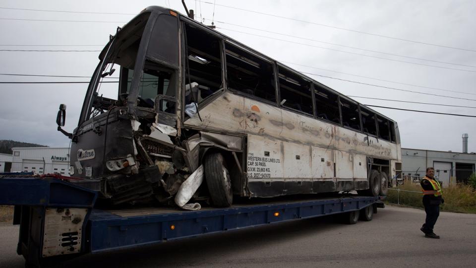 B.C. bus crash: RCMP say speed likely not a factor   CTV News  B.C. bus crash:...