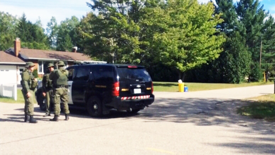 A Canadian soldier who was involved in a late August standoff with OPP  has died by suicide.