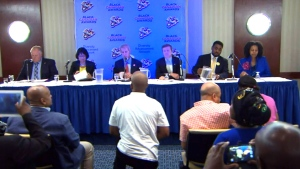 LIVE1: Mayoral candidates face off in debate