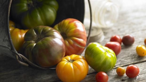 Organic food test