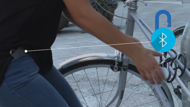 Noke' bike lock works without key | CTV News