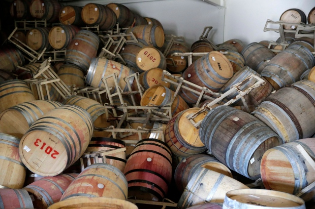 Buildings survive Napa quake but some wine did not