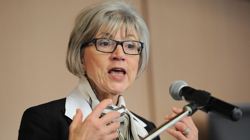 Supreme Court of Canada Chief Justice Beverley McLachlin is shown in this file photo.