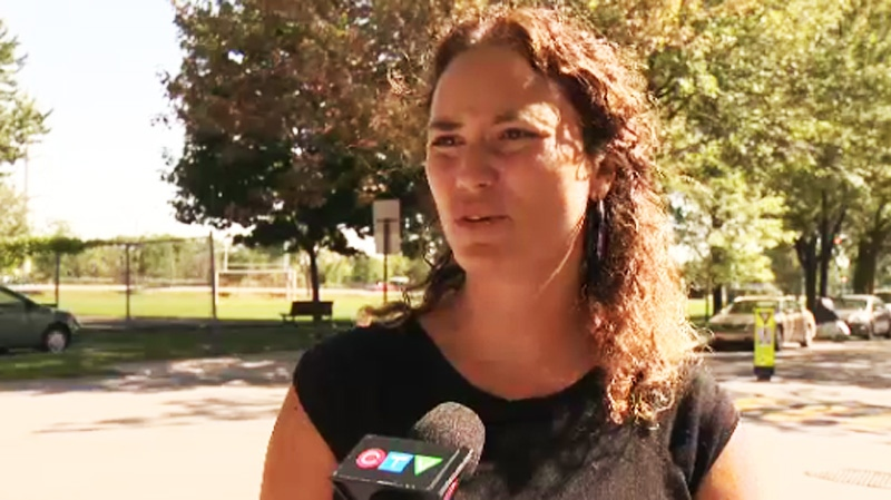 Nearby resident Marie France Dionne told CTV Montreal that keeping the field natural was her strong preference. (CTV Montreal).