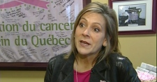 Nathalie Le Prohon, executive director of the Quebec Breast Cancer Foundation