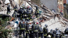 France building collapses