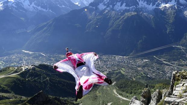 Daredevil jumps in France