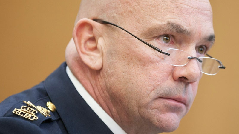 RCMP Commissioner Bob Paulson waits to appear before the Commons public safety committee in Ottawa, Tuesday January 31, 2012. (Adrian Wyld / THE CANADIAN PRESS)