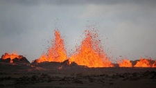 Iceland Bardarbunga Volcano Aug. 31
