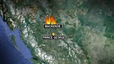Two toddlers have died in an early morning house fire in Mackenzie, B.C. on Tuesday, Jan. 31, 2012.