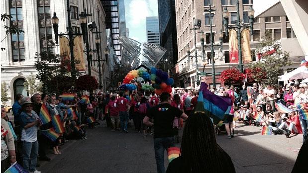 Pride Parade - Calgary - 2014