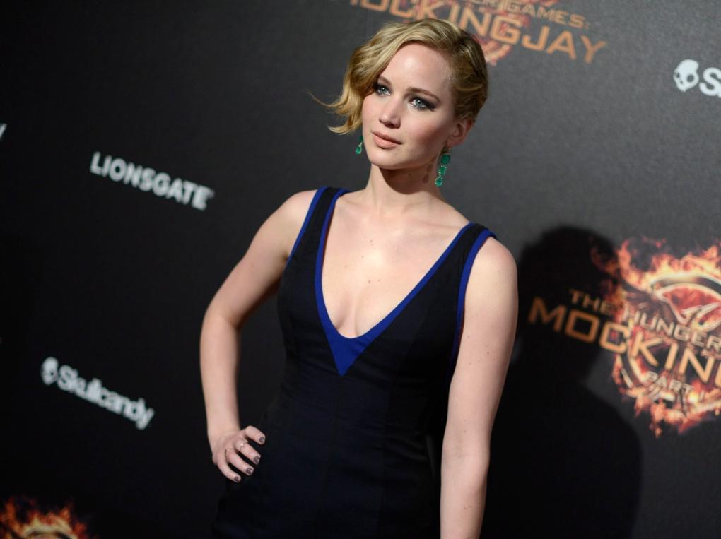 Actress Jennifer Lawrence - May 2014
