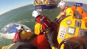 Extended: Speedboat capsizes in the U.K.