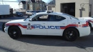 A photo of a police car from London, Ont.