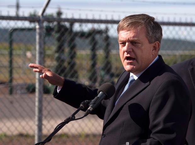 New Brunswick Tory leader David Alward