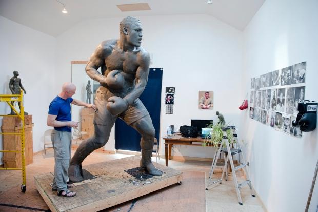 Statue of Joe Frazier