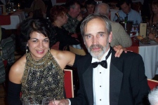 Powel Crosley and wife Sladjana