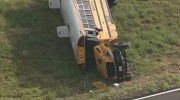 CTV News Channel: School bus crashes near Dallas