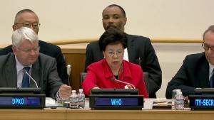 UN briefing on the Ebola outbreak