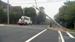 Alleged drunk driver knocks out power to thousands