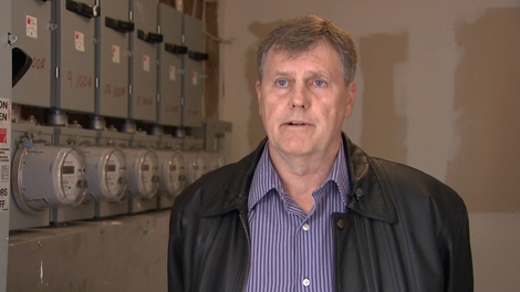 Condo strata president Brian Beckwall said installers broke in to the complex's meter room to install smart meters against the wishes of the tenants. (CTV)