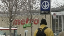 A Metro store in Montreal, some are calling for the chain to add an accent to its name.