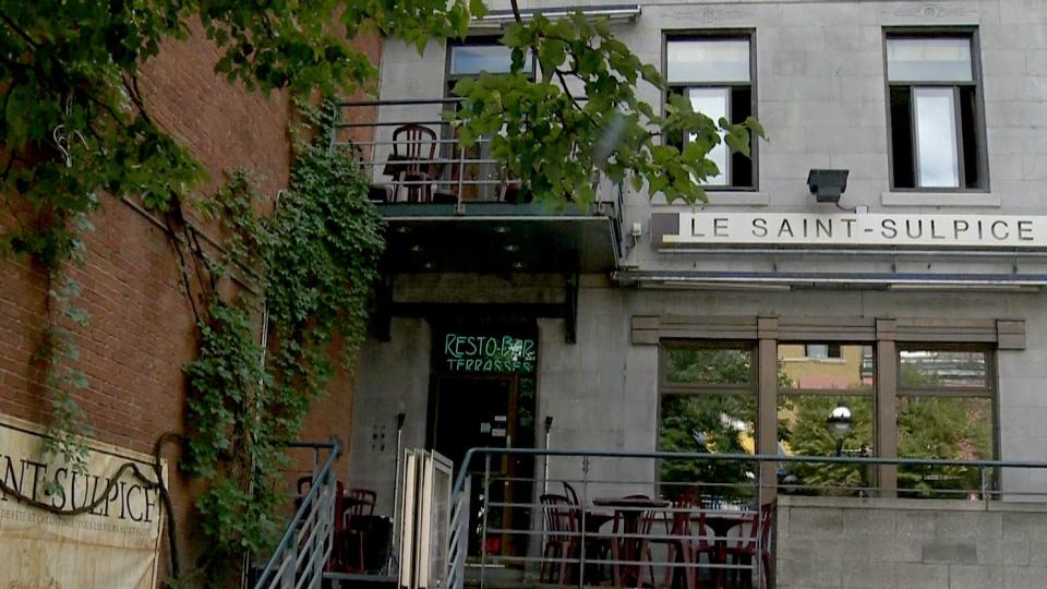 Saint-Sulpice bar in Montreal's Latin Quarter.