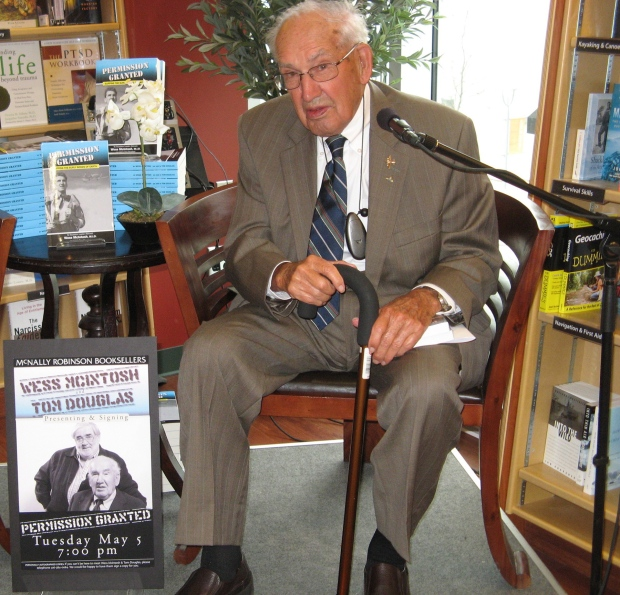 Second World War Canadian veteran Wess McIntosh