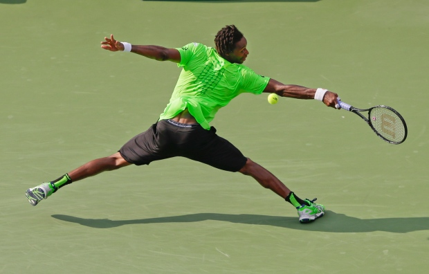Gael Monfils at U.S. Open