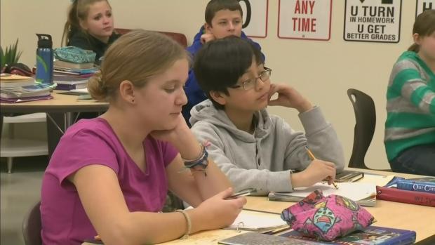 CTV Edmonton: Crunch on classroom space