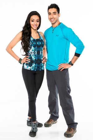 Siblings Sukhi and Jinder Atwal on Season 2 of Amazing Race Canada.