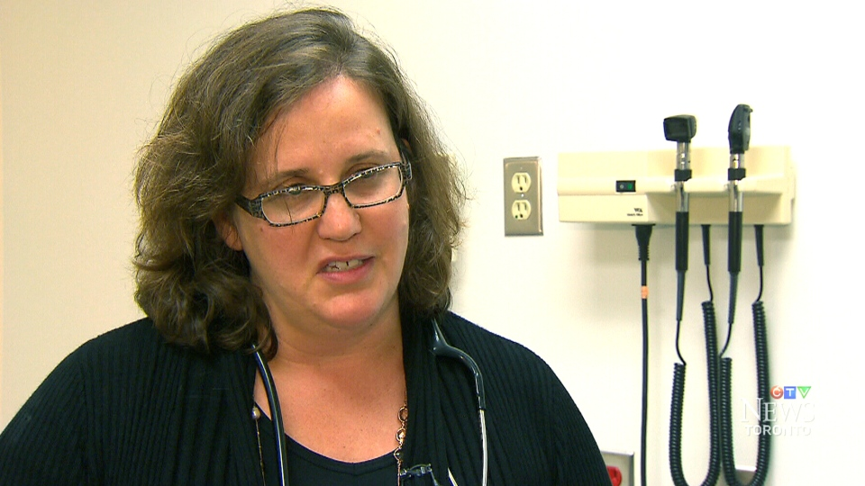 Dr. Andrea Eisen from the Familial Cancer Program at Sunnybrook Hospital in Toronto appears on CTV News, Tuesday, Sept. 2, 2014.