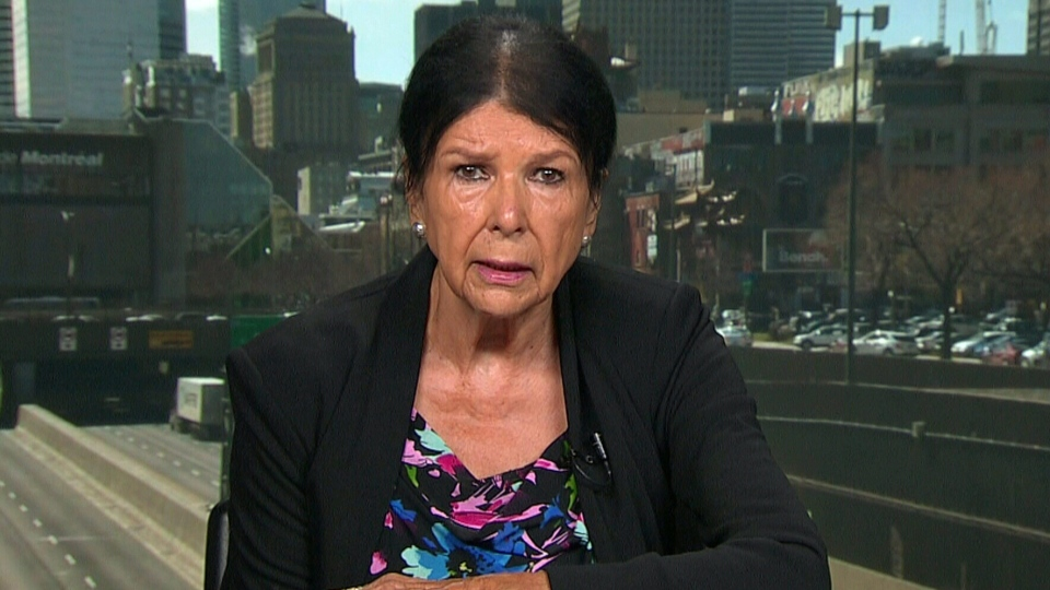 First Nations documentary maker Alanis Obomsawin appears on CTV's Canada AM.