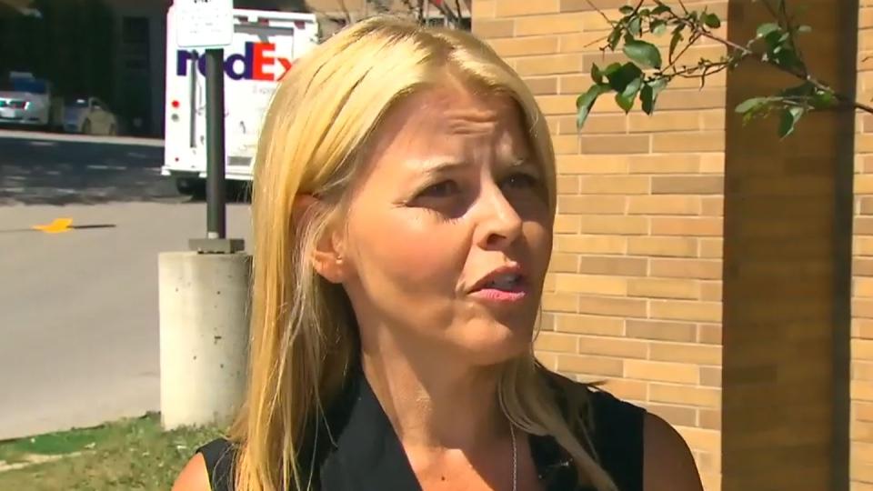 Kristine Galka visits St. Joseph's Health Centre in Toronto.