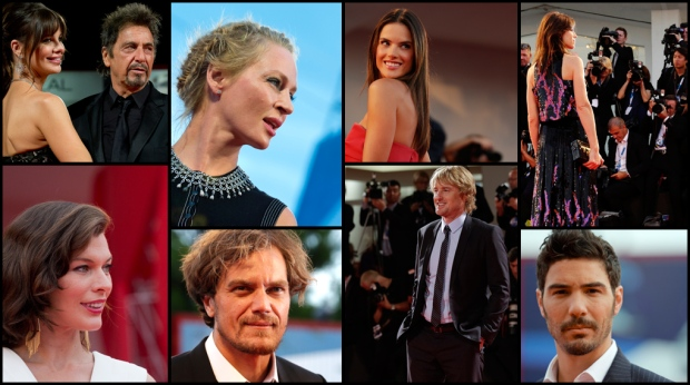 It&#39;s film festival season! <br><br> Hollywood and international stars hit the red carpet at the 71st Venice Film Festival, the oldest film festival in the world, in a series of elegant dresses and sharp suits.
