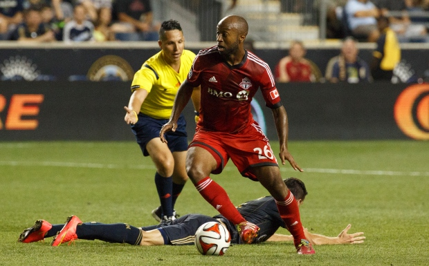 Toronto FC falls to Union
